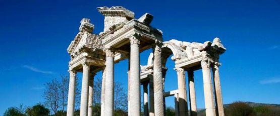 Aydın'daki Tanrıça Afrodit'in kenti 'Afrodisyas' rekor ziyaretçi bekliyor