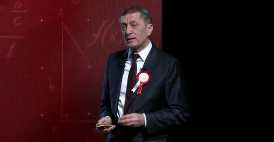 Milli Eğitim Bakanı Ziya Selçuk, Vizyon Belgesi'ni açıkladı